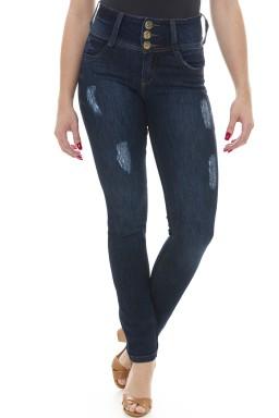 212860 Calça Jeans Feminina Skinny  (Frente2)