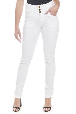 212866 Calça Jeans Feminina Skinny (Frente)