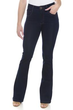 112907 Calça Jeans Feminina Flare ( frente 01 )