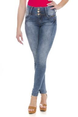 212863 Calça Jeans Feminina Skinny (Frente1)