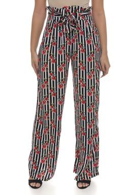 44712901 Calça Pantalona Listrada com Estampa Floral (Frente2)
