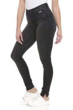 212734 Calça Jeans Feminina Skinny (Lateral)
