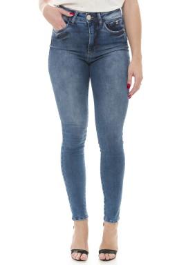 212854 Calça Jeans Feminina Skinny (Frente)