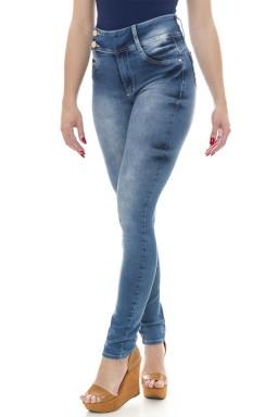 212812 Calça Jeans Feminina Skinny (Lateral)