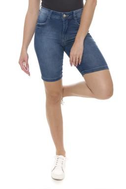 411908 Bermuda Ciclista Jeans Feminina (Frente1)