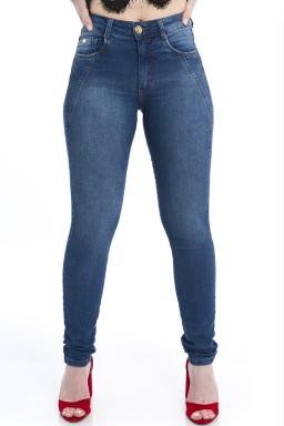 212936 Calça Jeans Feminina Skinny (Frente)