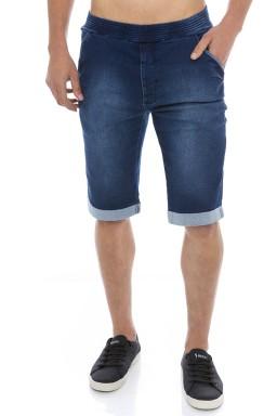 521912 Bermuda Jeans Masculina (Frente)