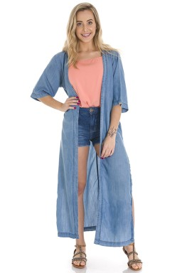 711901 Maxi Kimono Jeans (Frente)