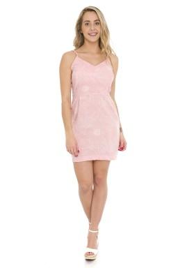 44911929 Vestido Curto Alcinha Alfaiataria Rosa (Frente2)
