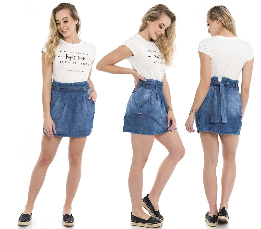 711912  Saia Jeans Clochard (Completa)