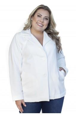 S4512900198 Casaco de Moletom Feminino Plus Size Off White (Frente1)
